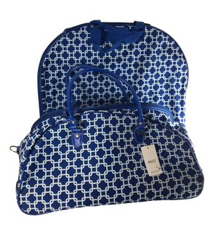 Royal Blue Wheelie & Garment Bag