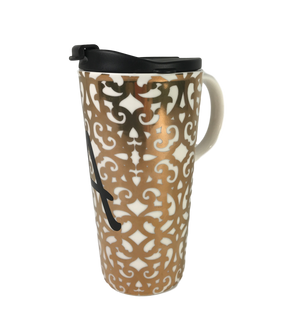 Gold Ceramic Mug Bulk Buy