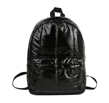 Metallic Puffer Backpack