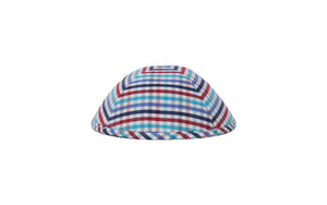 Keter Peluria Red Plaid Yarmulke