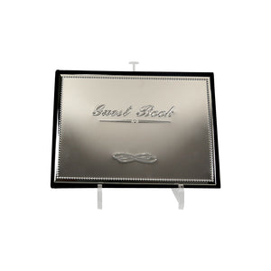 Silver Plated Guest Book - Scratched
