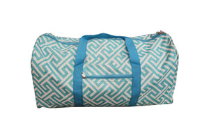Greek Key Duffel Bag