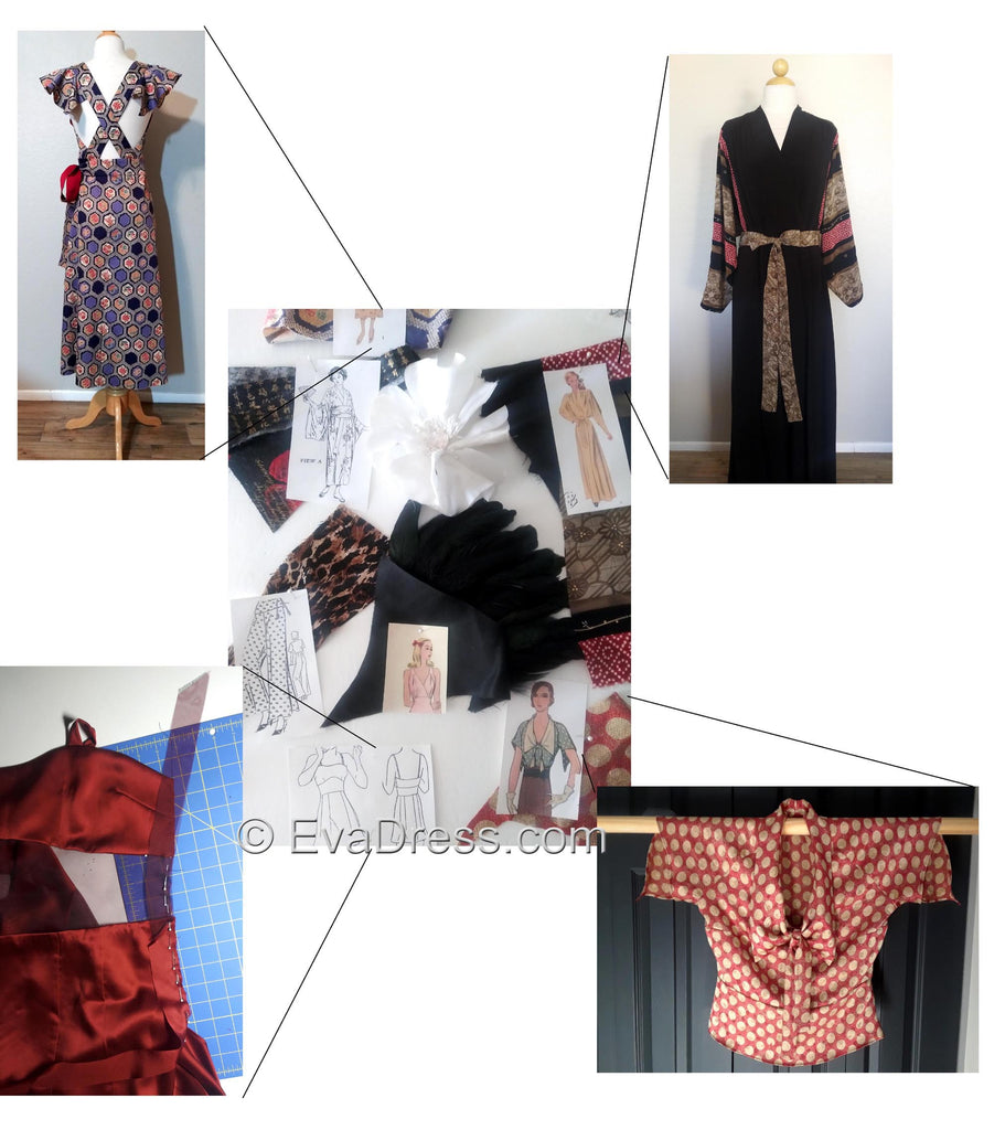 EvaDress Mood Board Pattern Challenge