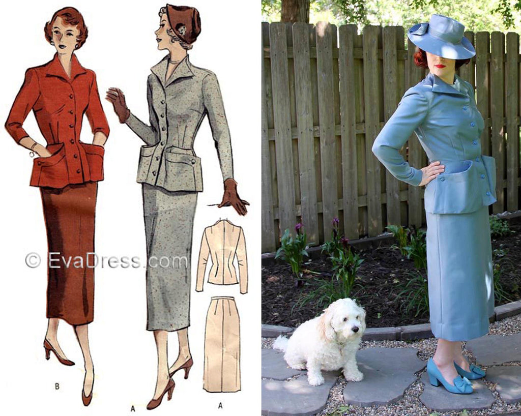 The EvaDress Fitting 40's Pattern Challenge Finalist!