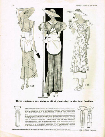 1933 Simplicity Pattern Book