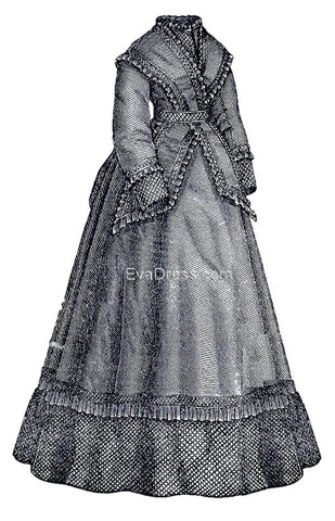 1869 Costume with Fichu