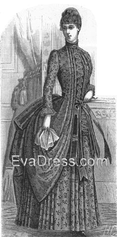 1887 Wrapper, coming soon from EvaDress Patterns