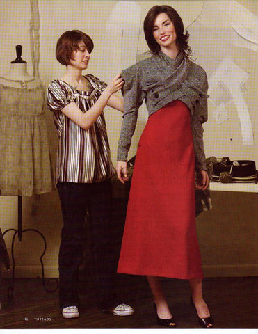 Threads Magazine Working with Vintage Patterns