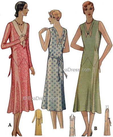 1930 Dresses, originally by McCall