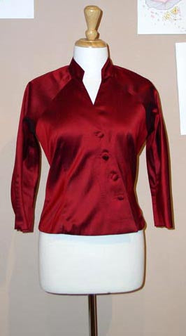 1952 Key Hole Blouse
