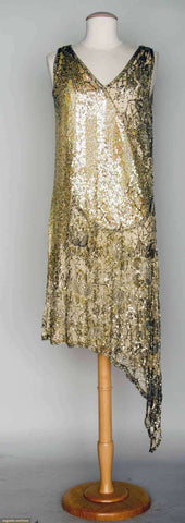 1920's Dress sold through August Auctions, as on Tumblr Anything Goes - Celebrating the 20s
