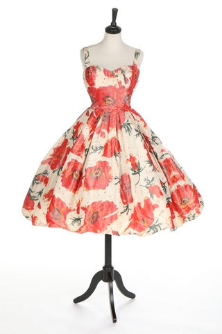 1956 Dress, brought to you by http://fripperiesandfobs.tumblr.com/