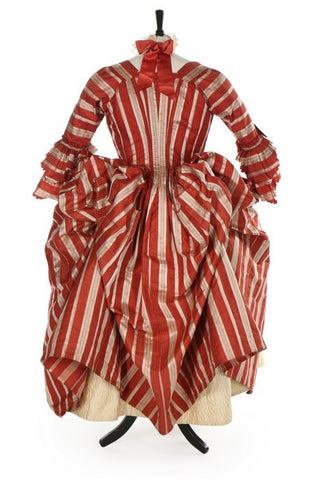 1770's Robe D'Anglaise (in a candy-cane sort of way!)