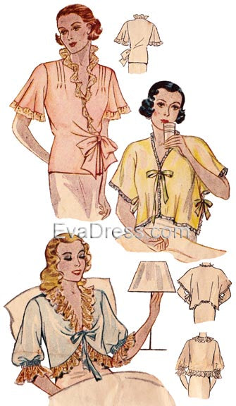 1935 Bed Jackets NL30-1559