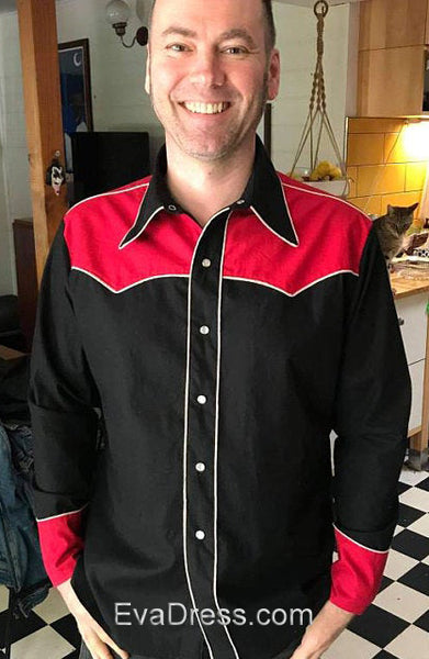 1949 Men's Western Shirts S40-3054