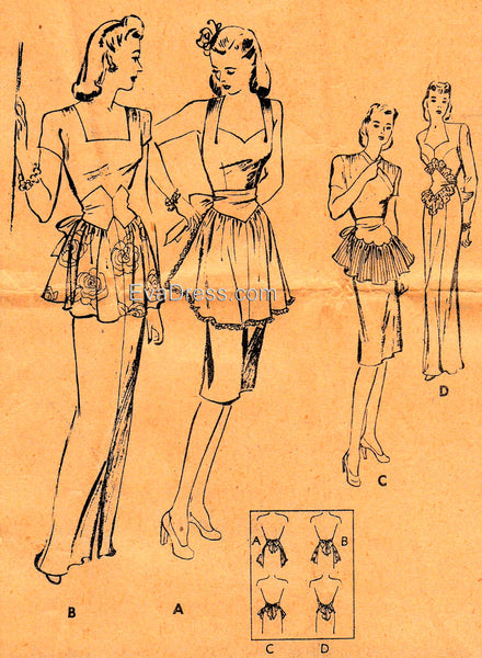 1946 Dress-Up Aprons, A40-3250