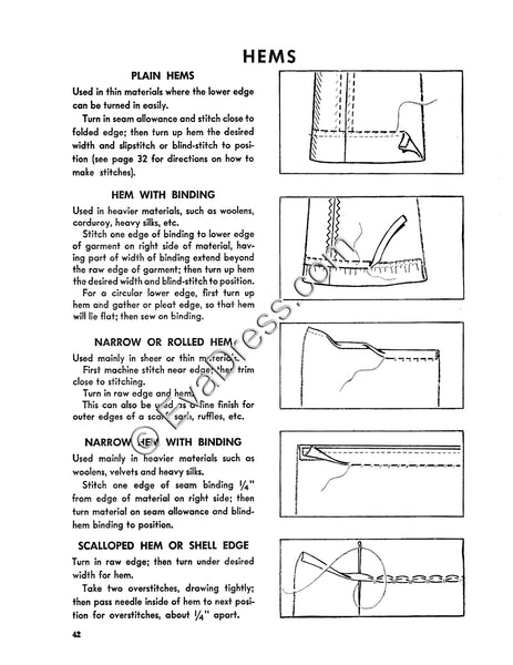 Reproduction 1946 McCall Sewing Booklet (Reproduction)