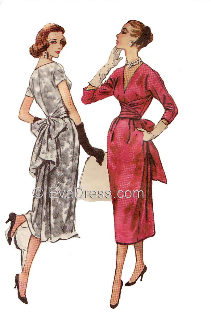 1957 Claire McCardell Dress D50-4292