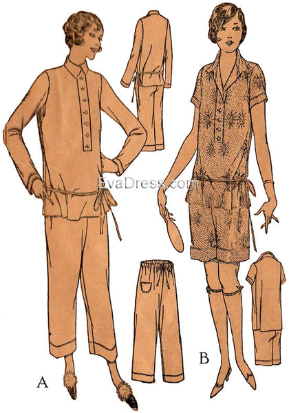 1923 Ladies' Pajamas NL20-4469