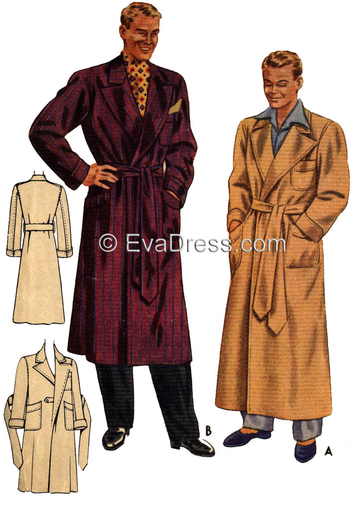 1941 Smoking Jacket/Robe NL40-4477