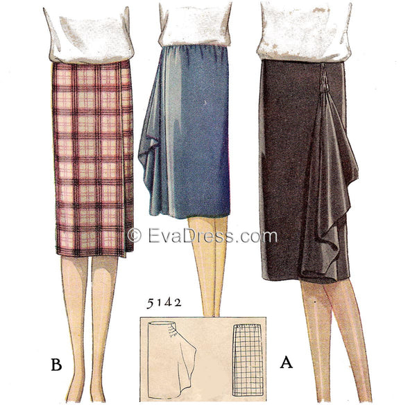 1927 Wrap Skirts Sk20-5142