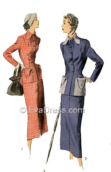 1949 Two-Piece Suit SE40-5310