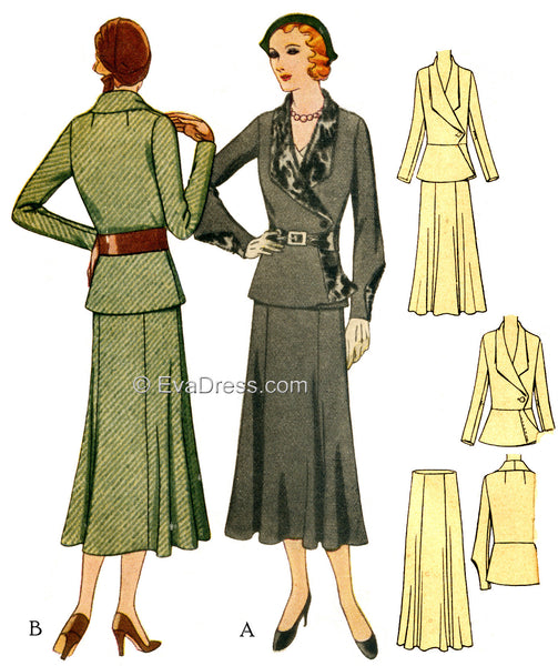 1931 Two-Piece Suit SE30-6690