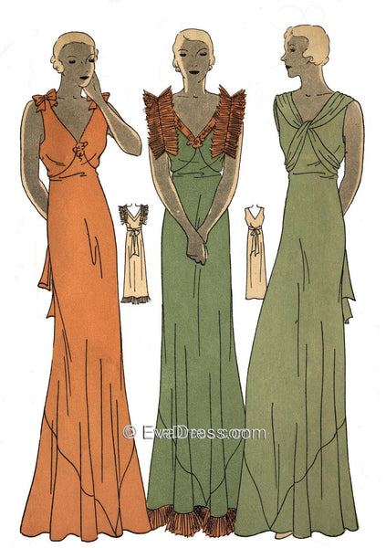 1933 Nightgowns NL30-7120