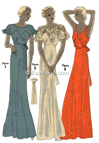 1933 Nightgowns NL30-7121