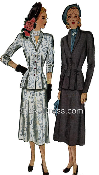 1948 Two-Piece Suit, SE40-7186