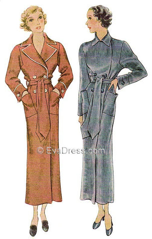1934 Bathrobe NL30-8094