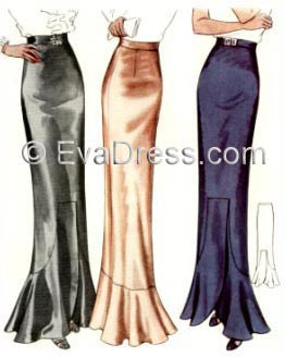 1936 Evening Skirts Sk30-8352