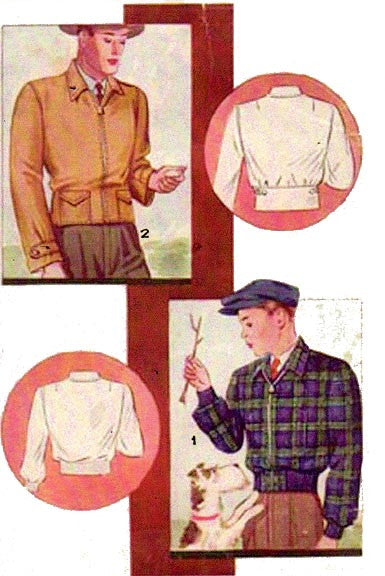 1934 Men's Windbreakers C30-9051