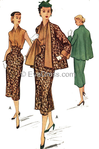 1952 Halter, Skirt & Jacket SE50-9113