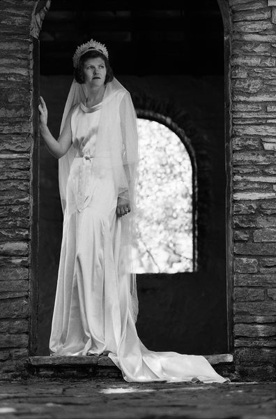 1931 Evening or Street Frock E30-3743