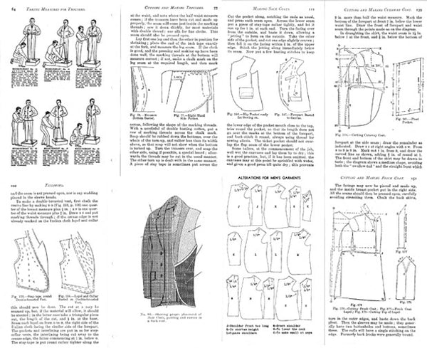 1945 Master Tailoring Booklet (Reproduction)