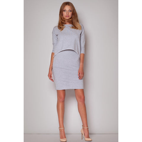 Grey Figl Dresses