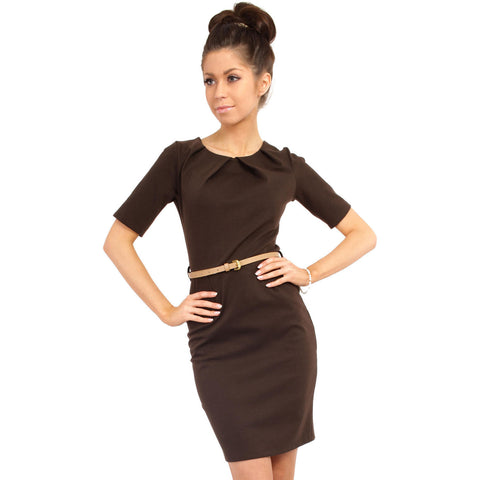 Brown MOE Dresses