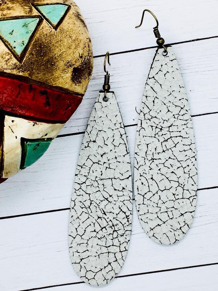Farmhouse Teardrop Earrings