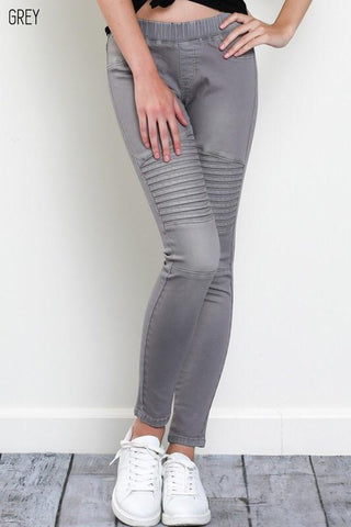 Grey MOTO Jeggings