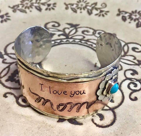 I Love You Mom Bracelet