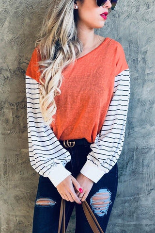 Britt Bubble sleeve top