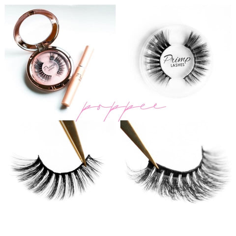 Poppee magnetic lashes