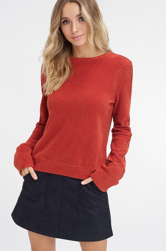 Rachel Ribbed Sweater