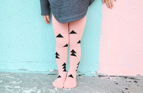 pink triangle tights