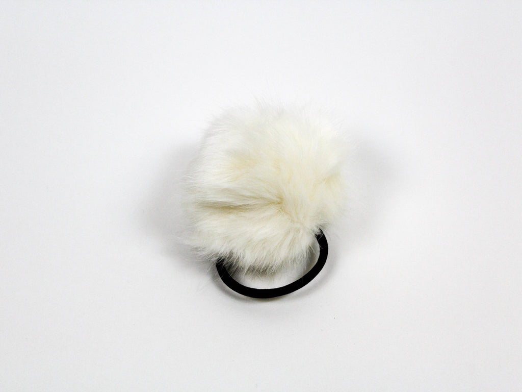 emile fur hair elastic