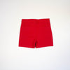 chino shorts- red