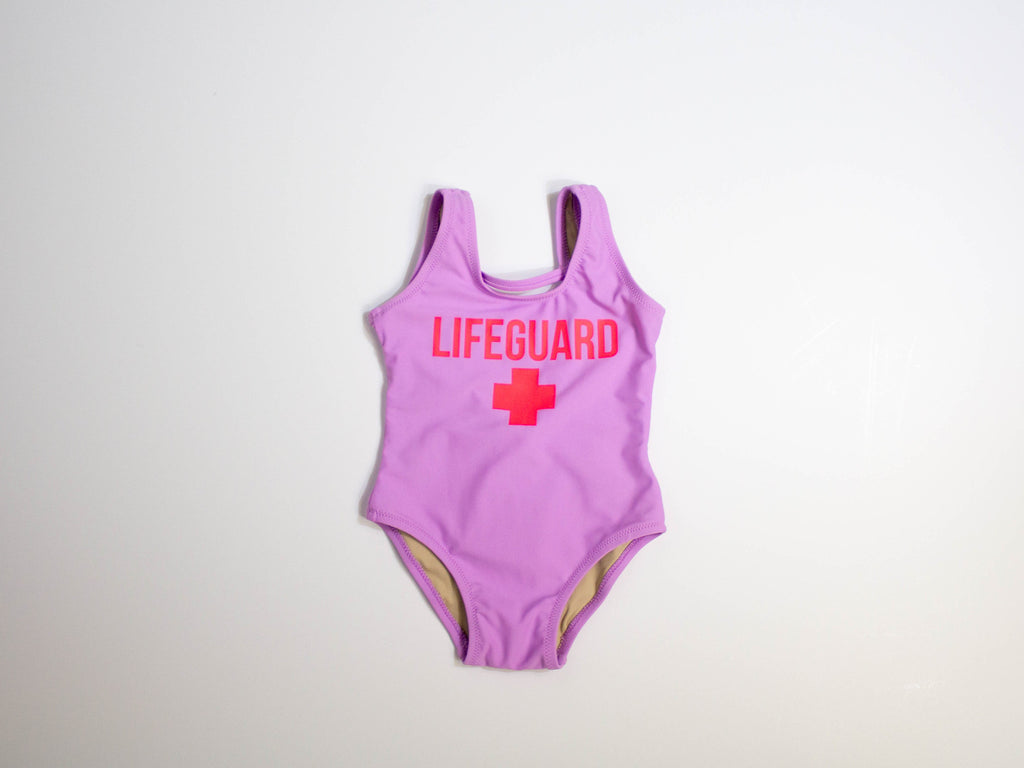 Lifeguard on Duty Scoop Swimsuit