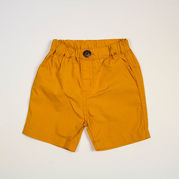 pull on shorts- orange