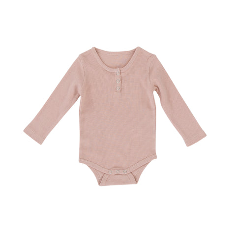 Peggy Bodysuit in Dusty Pink